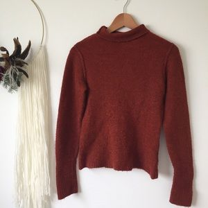 Reitmans | rust turtle-neck sweater